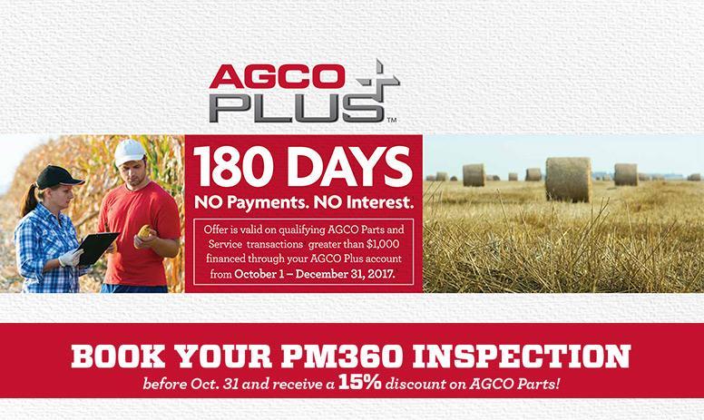 AGCO Plus Sale