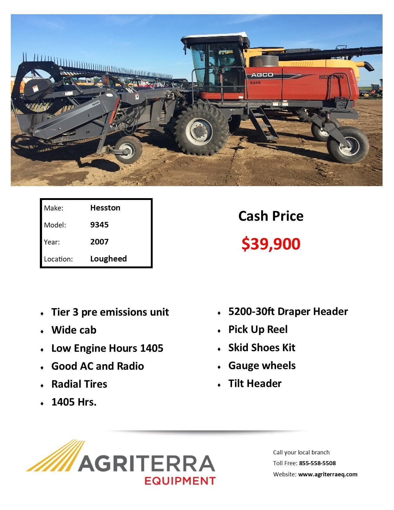 Special Promotions | Agriterra Equipment